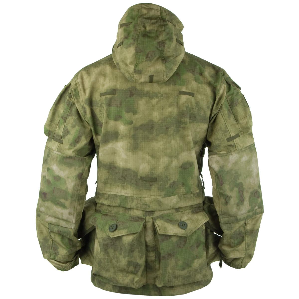 Teesar Army Smock Generation Ii Mens Hooded Jacket Long