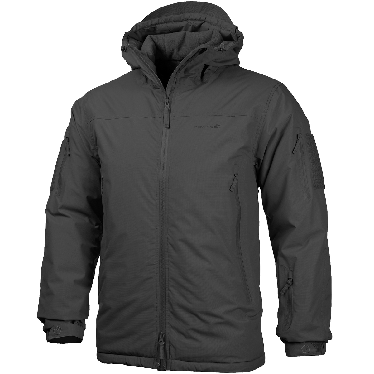 Pentagon Lcp 20 Parka Mens Hooded Nylon Coat Army Police Tactical
