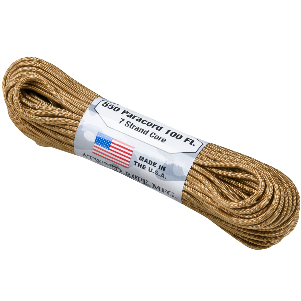 MFH Paracord 100FT Coyote