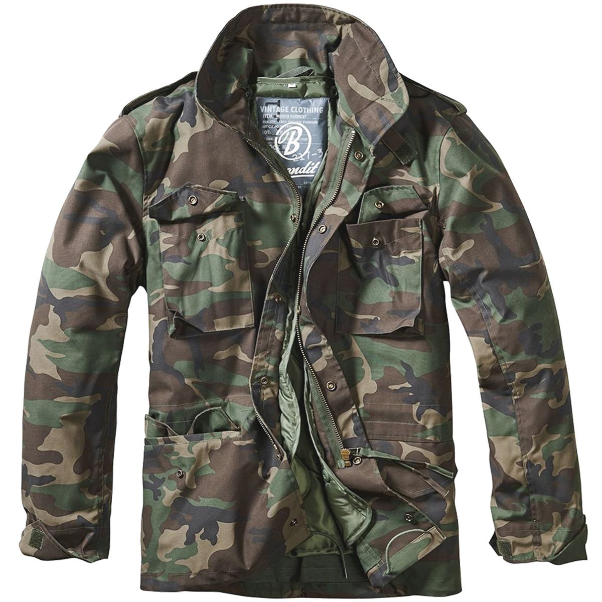 Brandit M65 Standard Jacket Mens Tactical Combat Parka