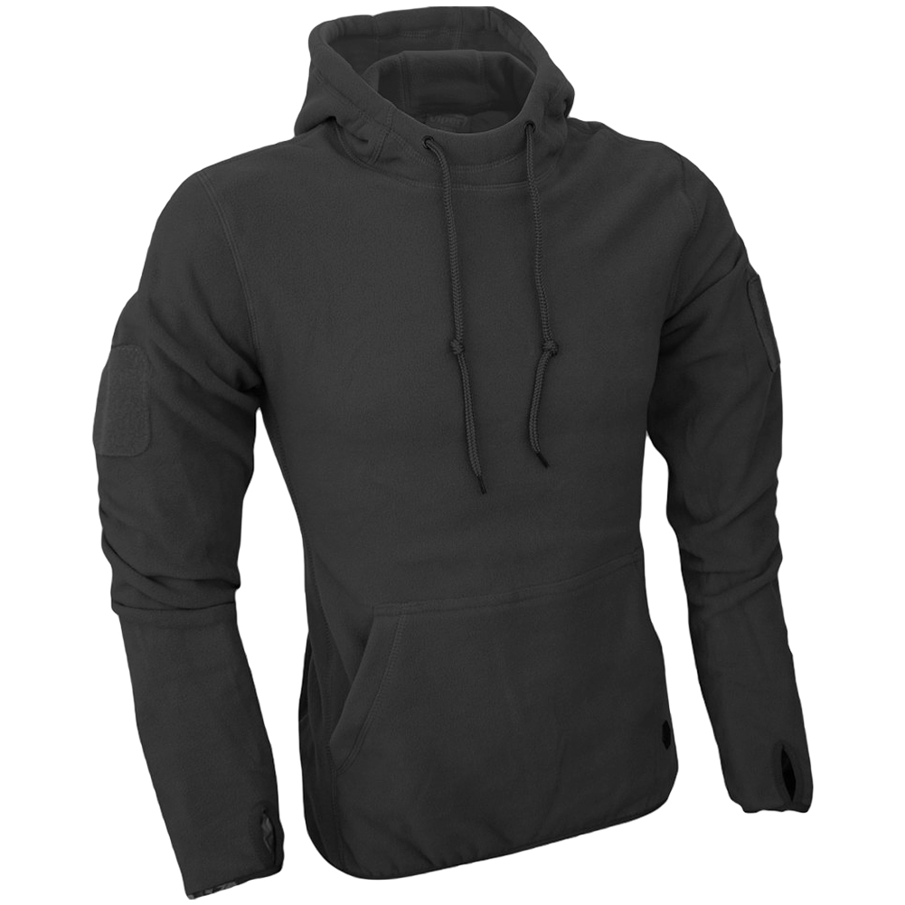 Details about Viper Tactical Mens Hoodie Warm Fleece Jumper Army Security Polar Sweater Black