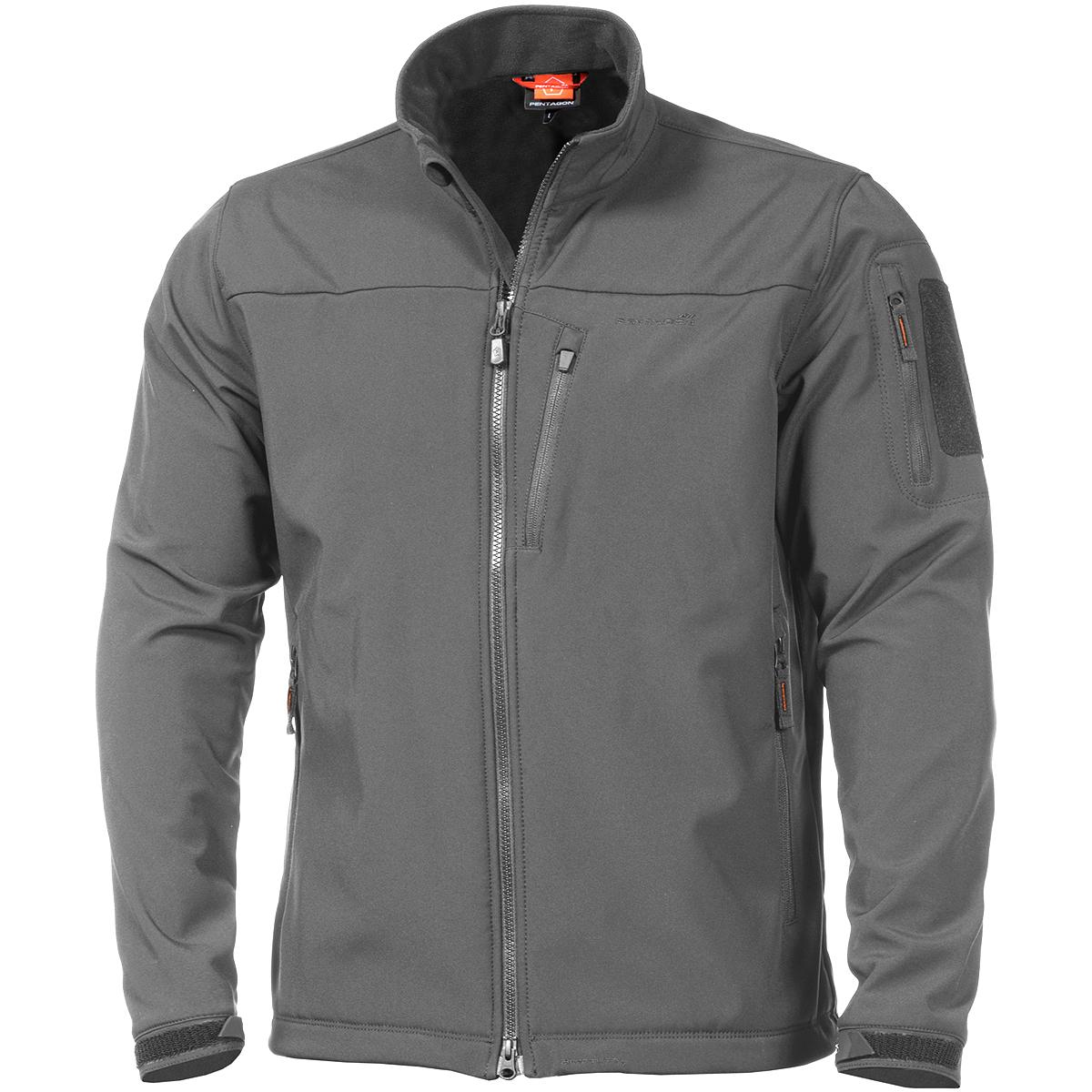 c19a540746a57d Details about Pentagon Reiner 2.0 Soft Shell Tactical Mens Warm Urban  Fleece Jacket Wolf Grey