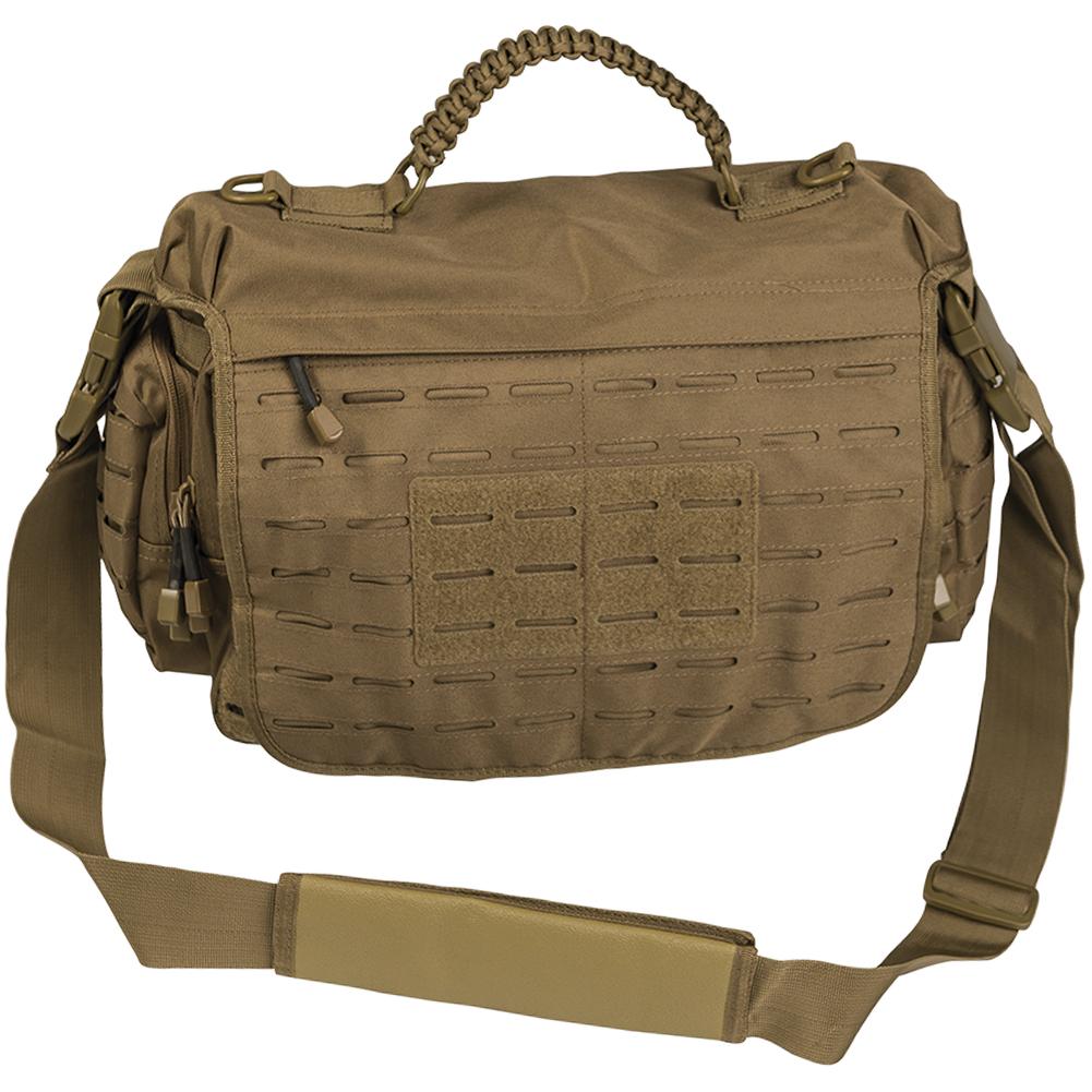 ce8d706b7a Details about Mil-Tec Tactical Paracord Bag Large Laptop Messenger Shoulder  Pack Dark Coyote