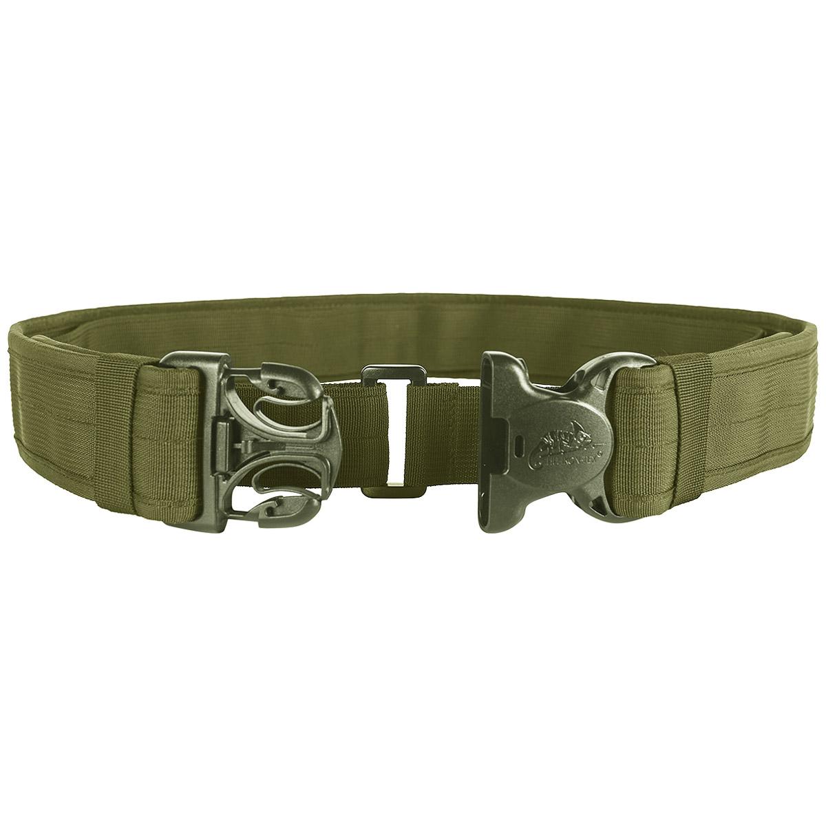 Helikon Tactical Defender Mens Belt Police Suspender Duraflex Buckle Olive Green