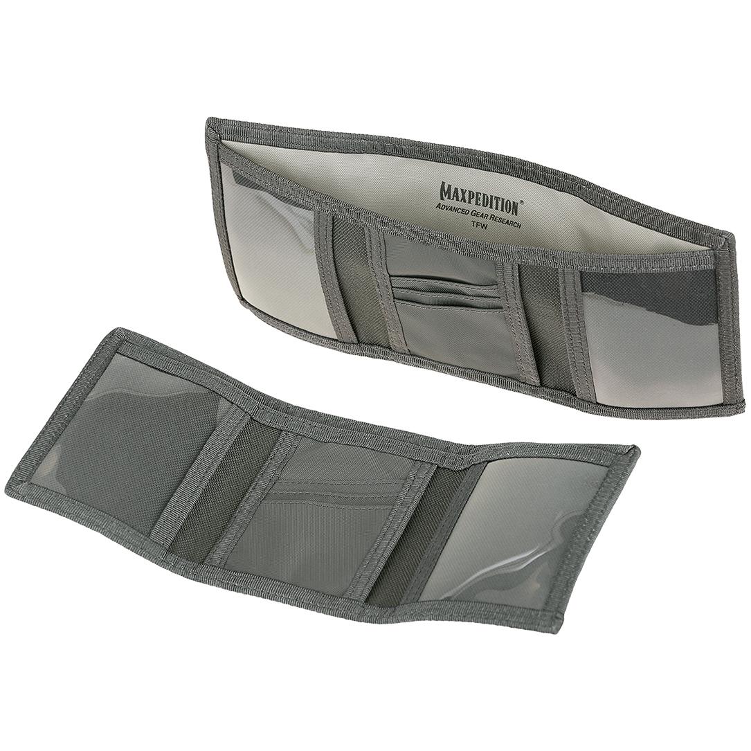 Maxpedition TFW Tri-Fold Mens Tactical Military EDC Traditional Nylon Wallet
