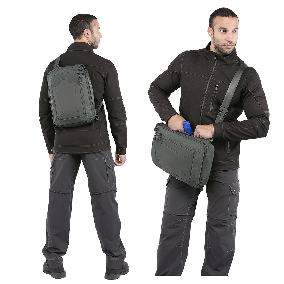 Maxpedition AGR Valence Sling Bag Hex Ripstop Laptop Padded Urban ...