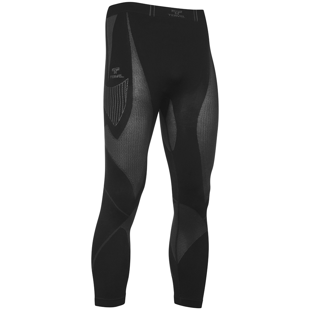 Men/'s Cycling Underwear ThermoActive Compression Long leggings Pants UK Sz S-XXL