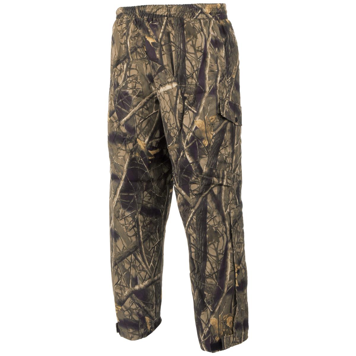 mil tec wild trees hd jagd hose wandern trekking herren j ger tarnung hose camo ebay. Black Bedroom Furniture Sets. Home Design Ideas