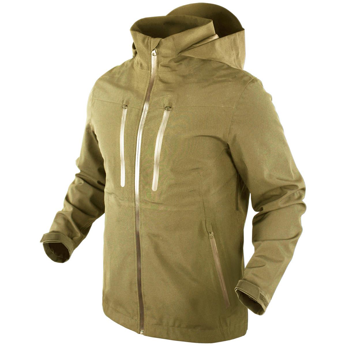 condor aegis hardshell hooded jacket mens waterproof