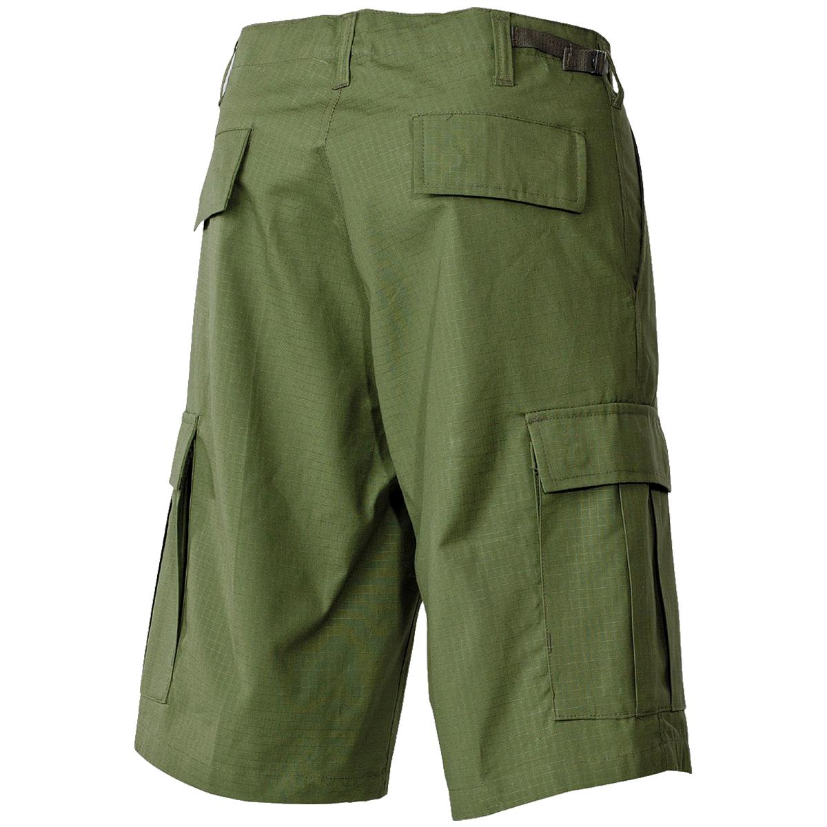 Mfh Men S Us Bdu Bermuda Shorts Uniform Military Trekking