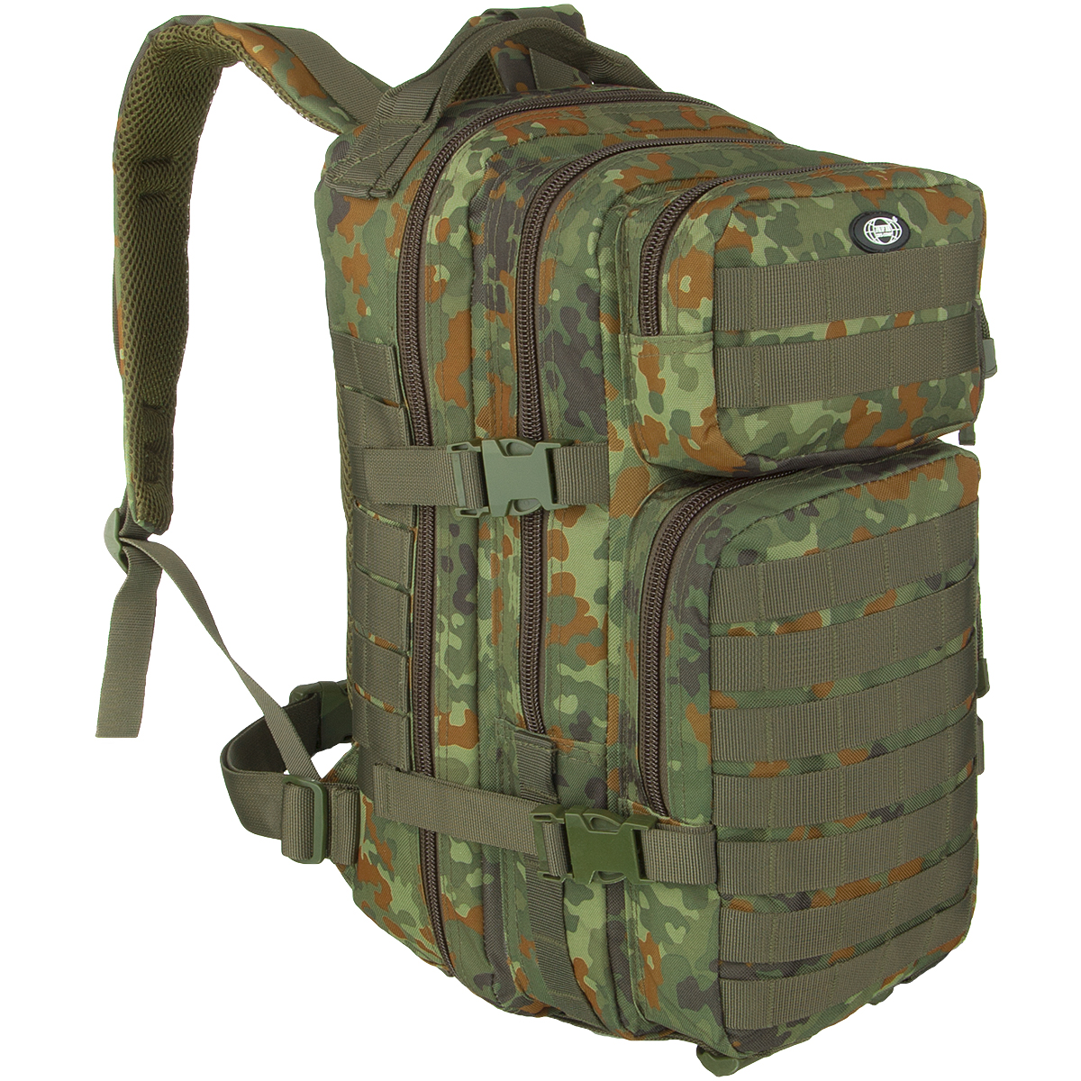 7ed92582e8a7 MFH Combat Waist Bag Flecktarn Needed for camping t