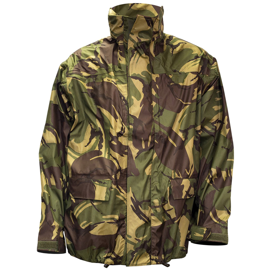 35f99f747b0a2 Details about Highlander Tempest Army Mens Hooded Jacket Waterproof  Windproof British DPM Camo