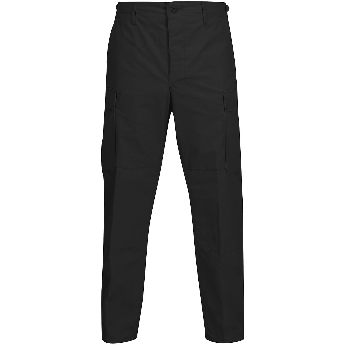 Propper-Bdu-Pantalones-Boton-Ripstop-Hombre-Mosca-Policia-Seguridad-Negro