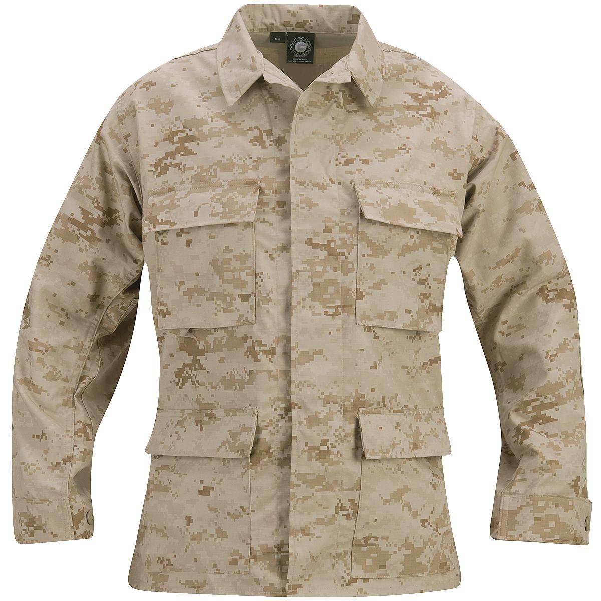 Propper-Hombre-BDU-Capa-Genuine-Patrulla-Combat-Seguridad-Digital-Desert-Camo