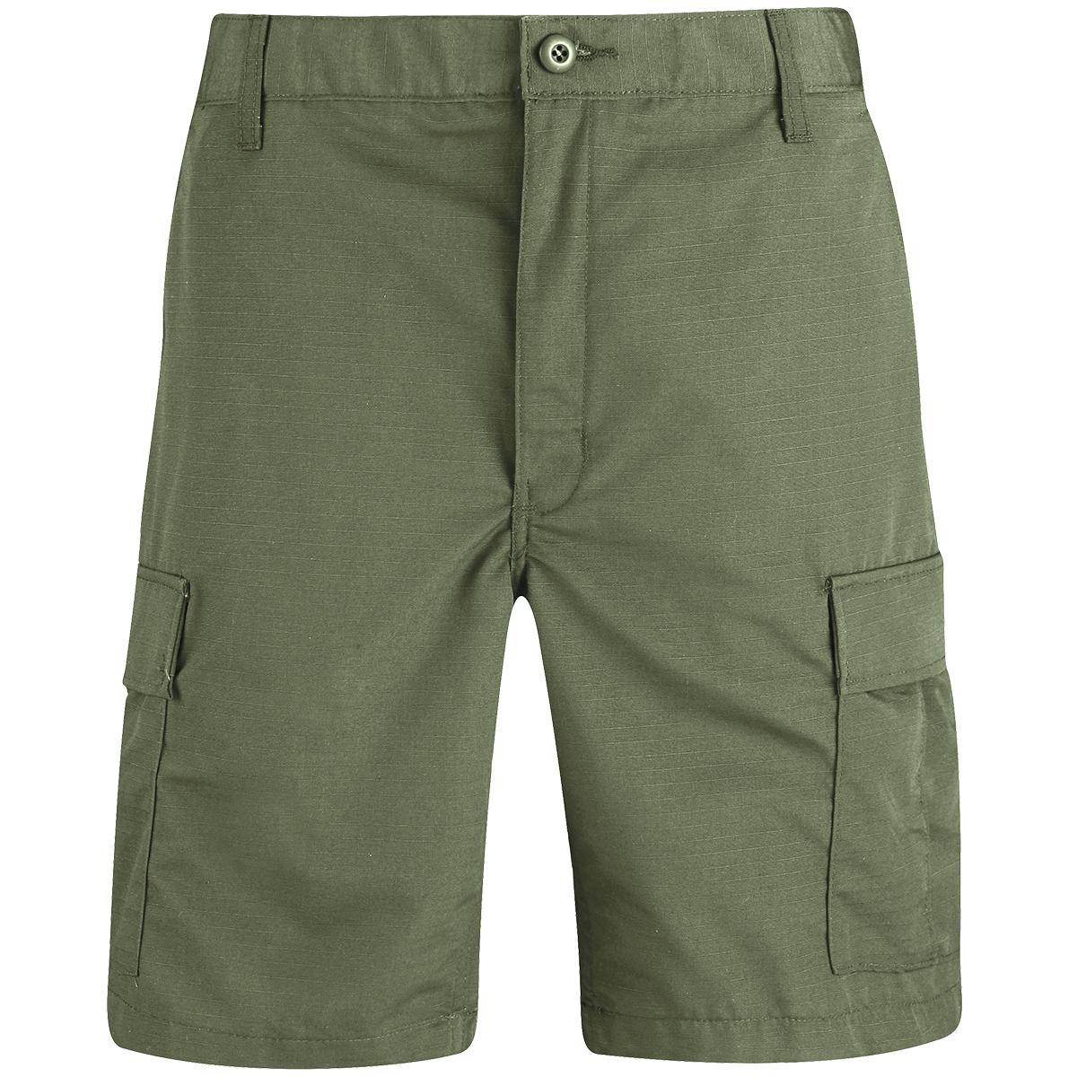 Oliva Bdu Pantalones De Bermudas Pesca Hombre Paintball Caza Detalles Propper Zip Mosca 3L54ARj