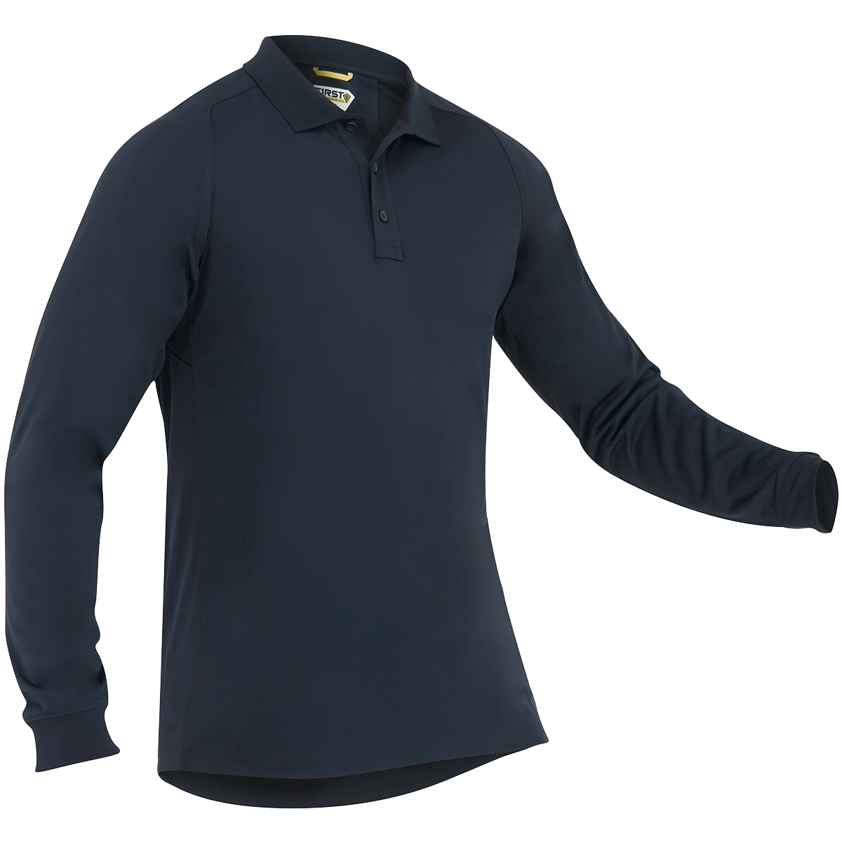 First Tactical Mens Performance Long Sleeve Polo Marine