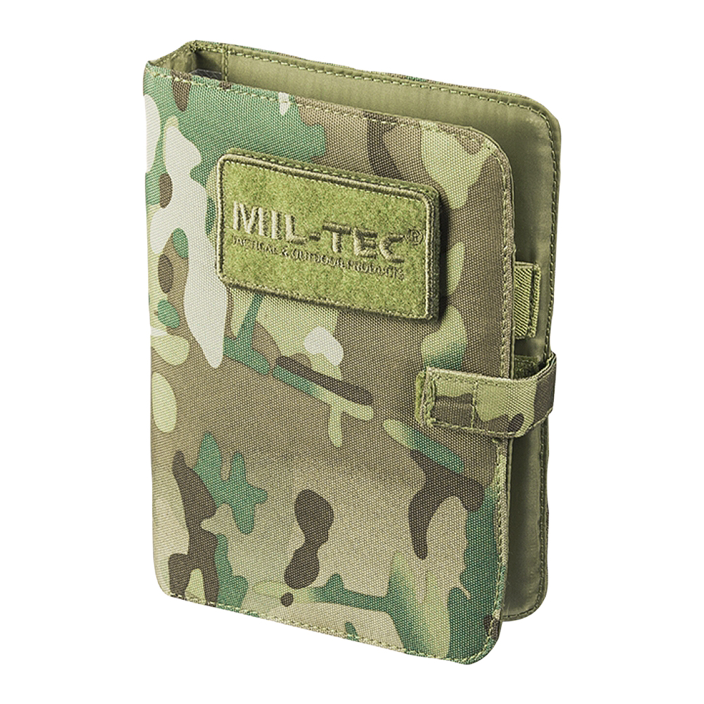 dce00109eb6e Details about Mil-Tec Tactical Notebook Small Military Army Cadet Writing  Notepad Multitarn