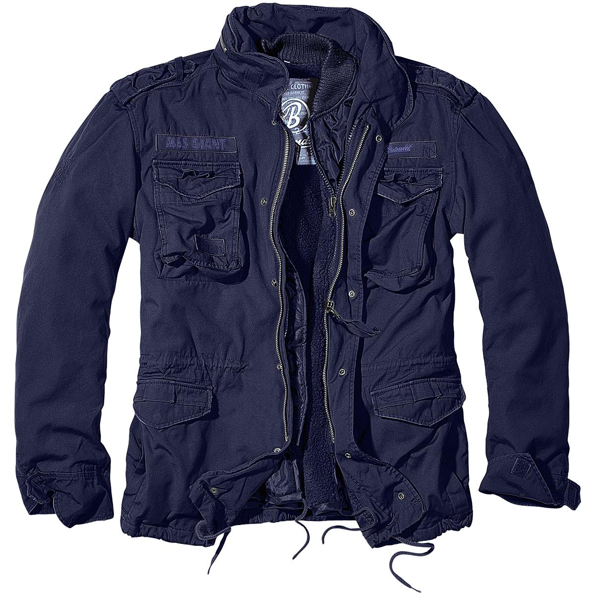 Brandit M65 Giant Mens Field Jacket Warm Police Coat Security Liner