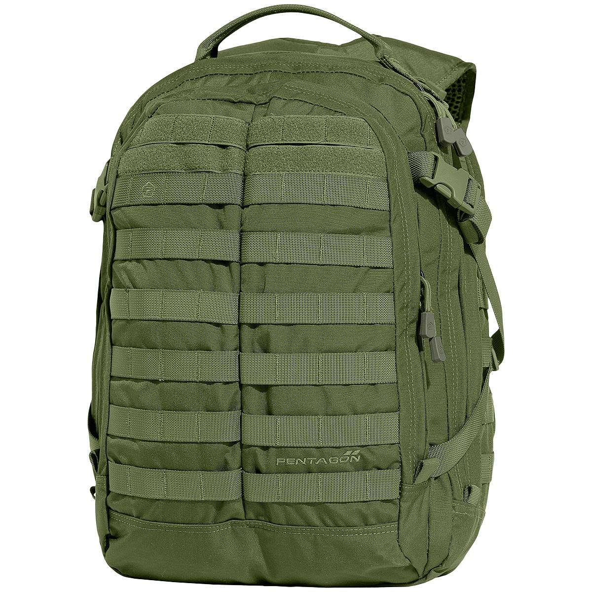 Pentagon Kyler Backpack Tactical Military Army Molle Pals Rucksack Kendal Tote Green Sentinel Bag Olive