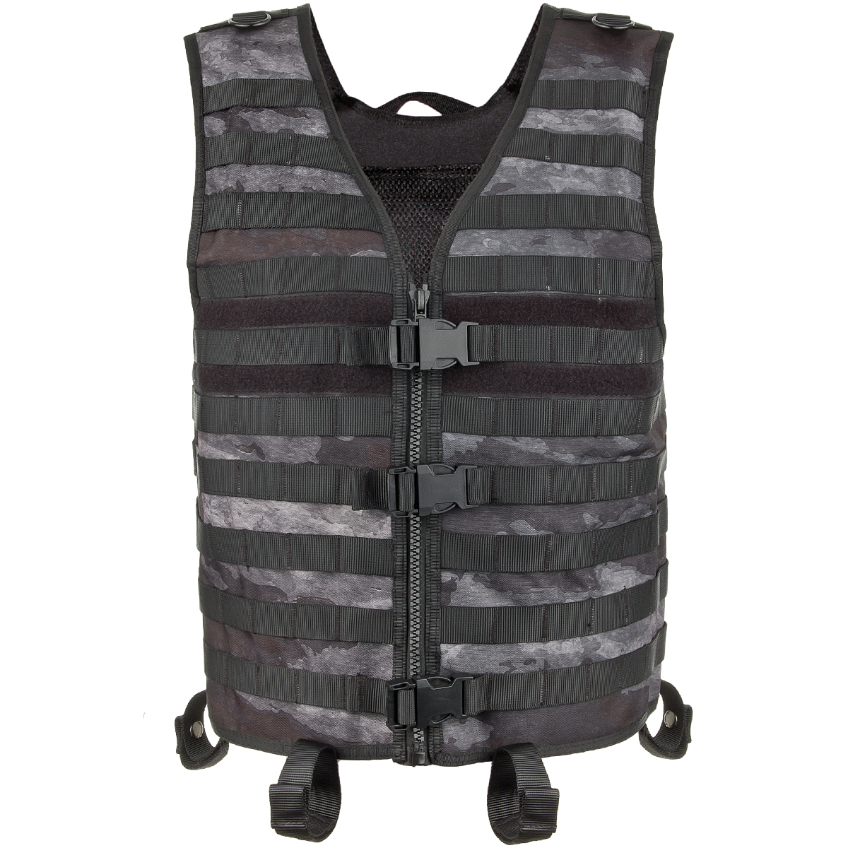 US Tactical Combat Weste Molle light HDT camouflage FG Vest Funsport