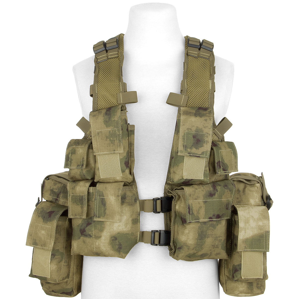 Details about MFH South African Assault Vest Cargo Hunting Airsoft Combat  HDT Camo FG Camo