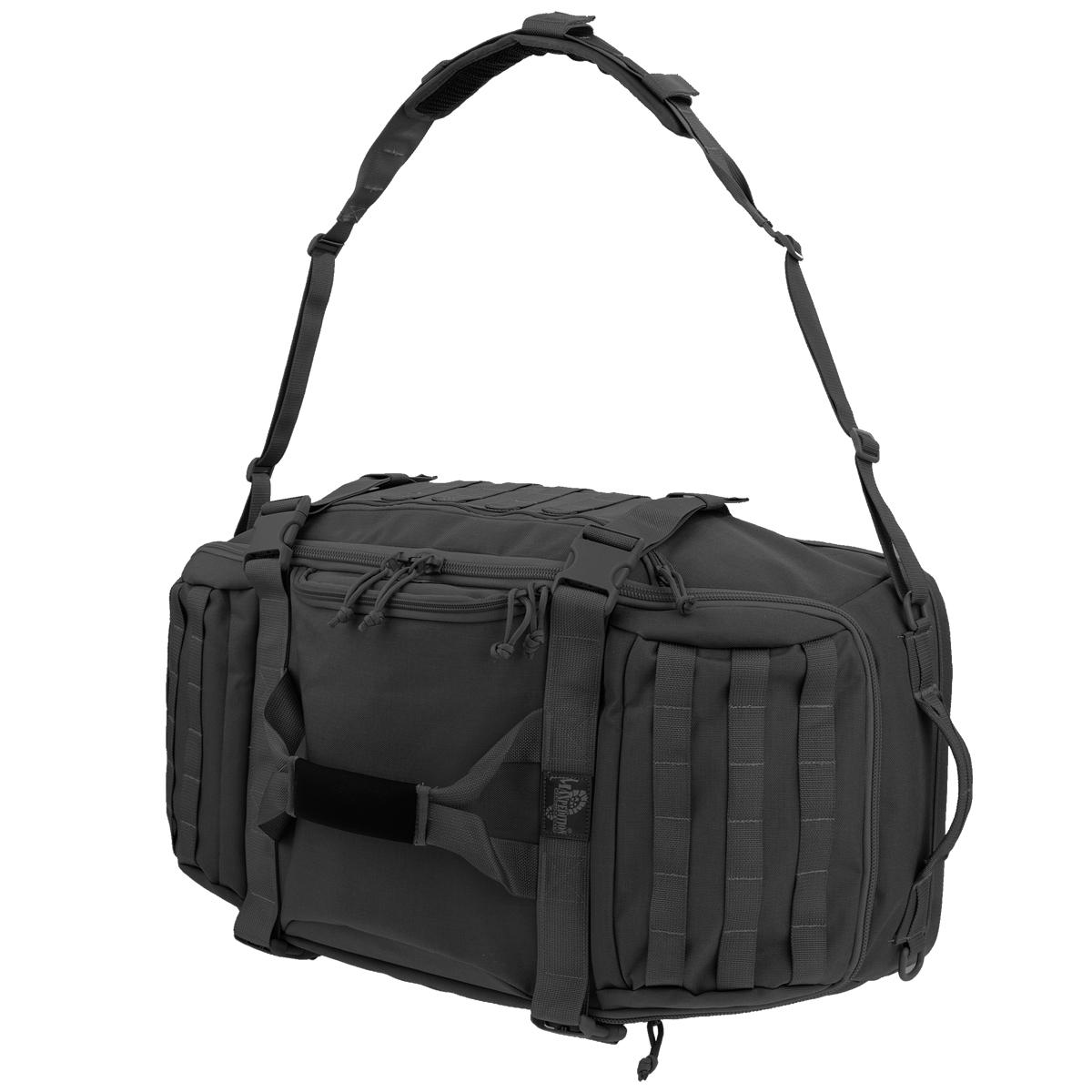 c47b6d1bc47f Sentinel Maxpedition Doppelduffel Adventure Bag MOLLE Army Pack Carryall  Gym Bag Black