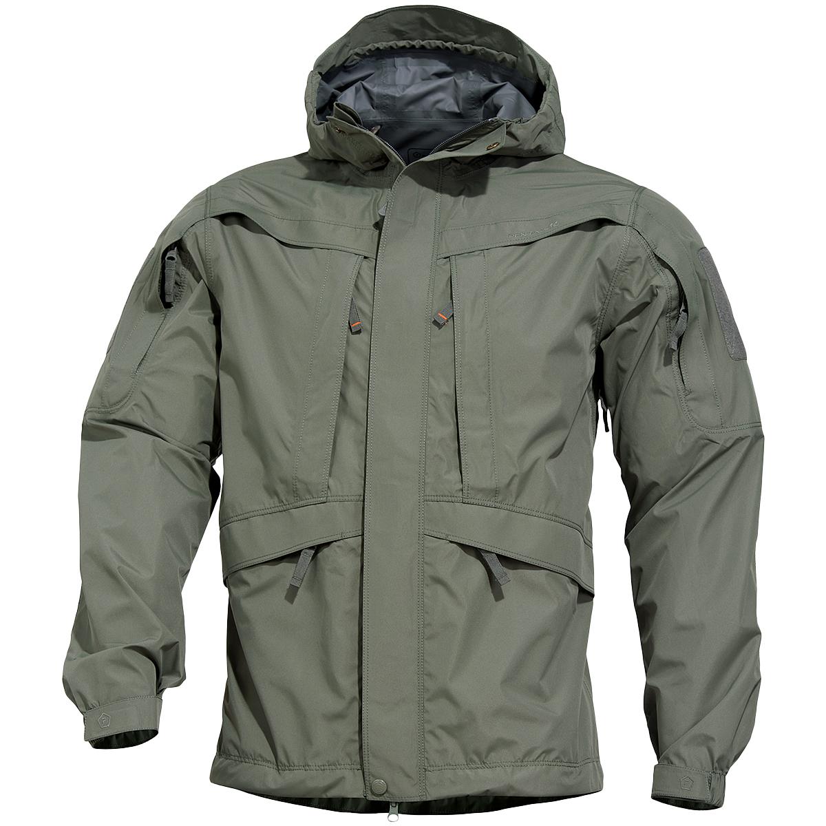 Pentagon Monsoon 2 0 Rain Shell Jacket Grindle Green