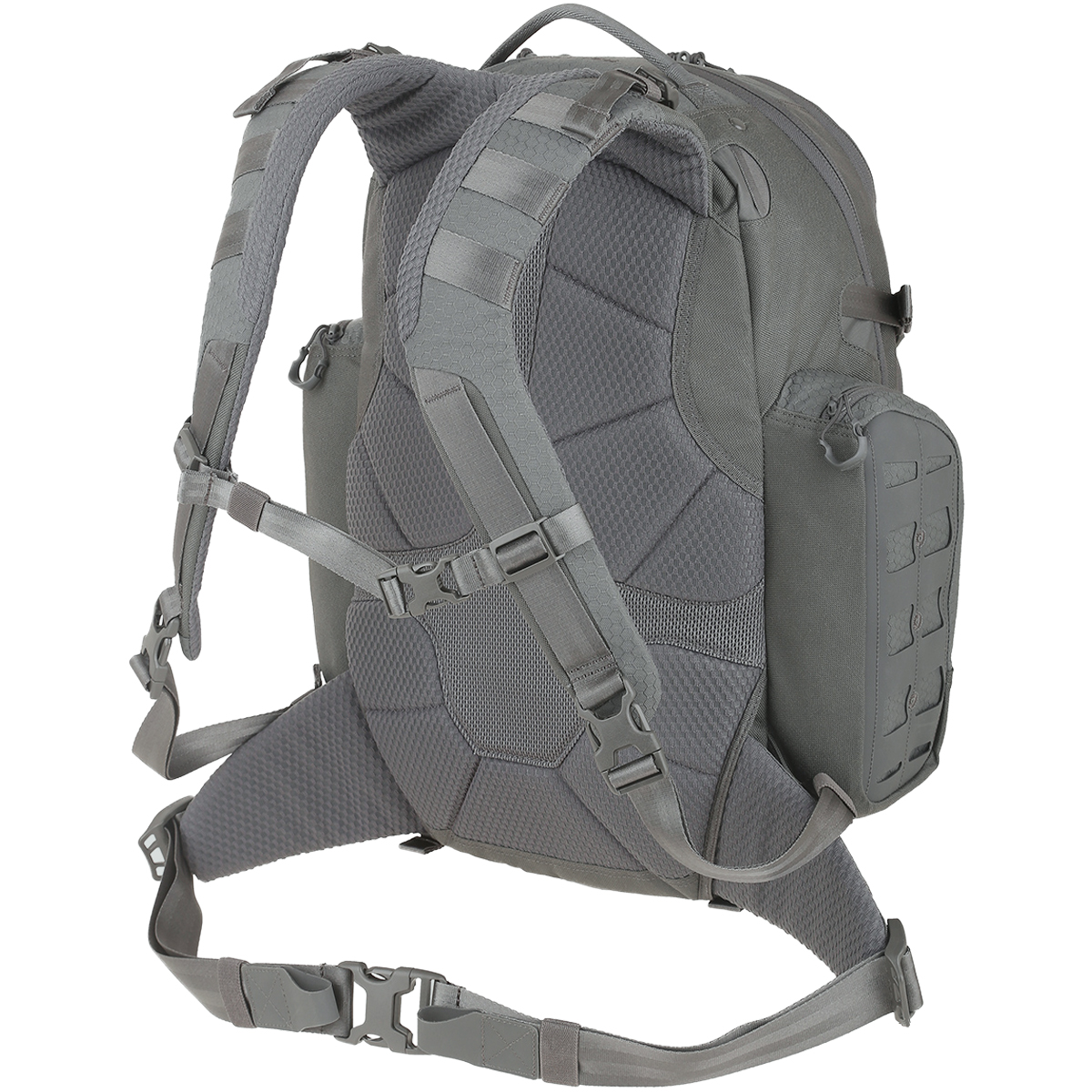 5a7b640714 Sentinel Maxpedition Tiburon Backpack 34L Urban Travel Hiking Rucksack  Laptop MOLLE Grey