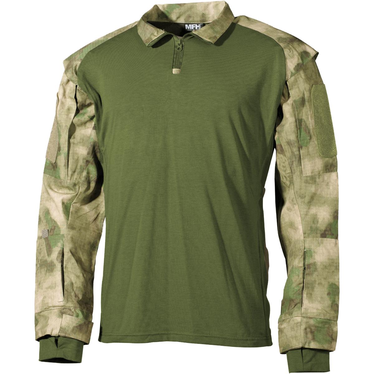 MFM-US-Camisa-Tactica-Hombres-Senderismo-Aire-Libre-Pesca-Caza-HDT-Camo-FG