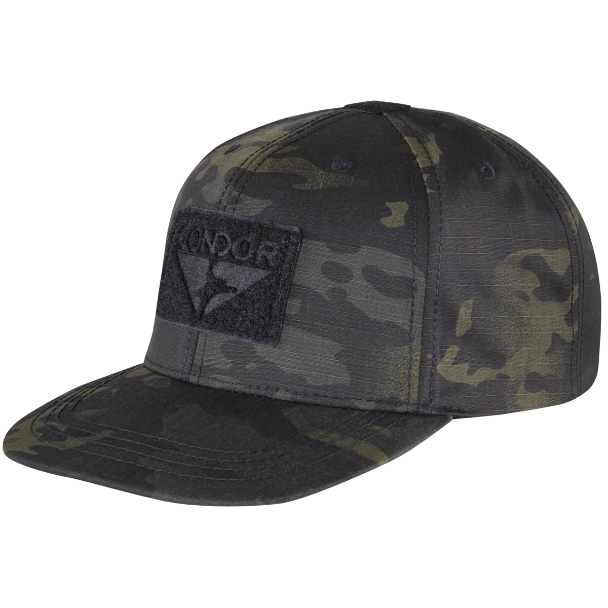 Sentinel Condor Flat Bill Snapback Cap Baseball Mens Tactical Hat MultiCam  Black Camo 9ed56a00d395