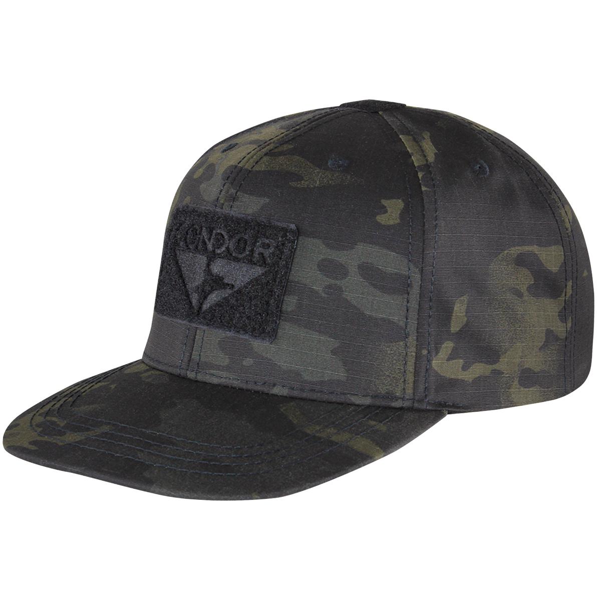 Sentinel Condor Flat Bill Snapback Cap Baseball Mens Tactical Hat MultiCam  Black Camo 59662500990c