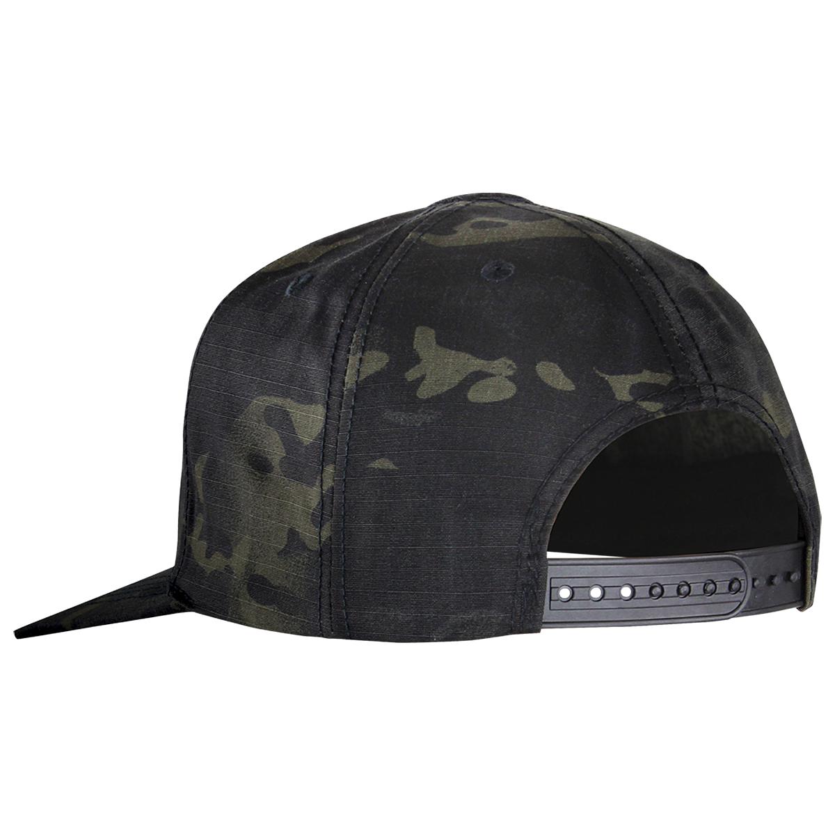 Details about Condor Flat Bill Snapback Cap Baseball Mens Tactical Hat  MultiCam Black Camo