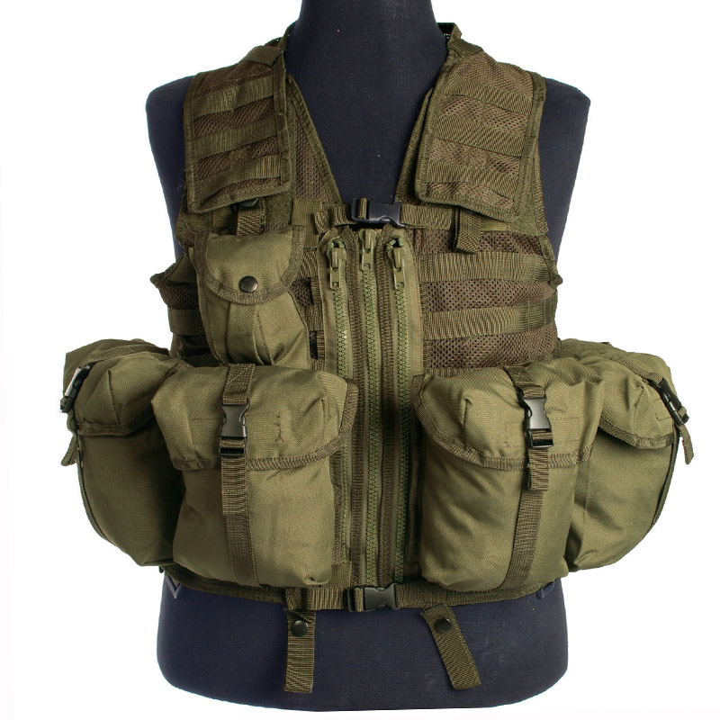 Military Modular System Army Tactical Vest Paintball