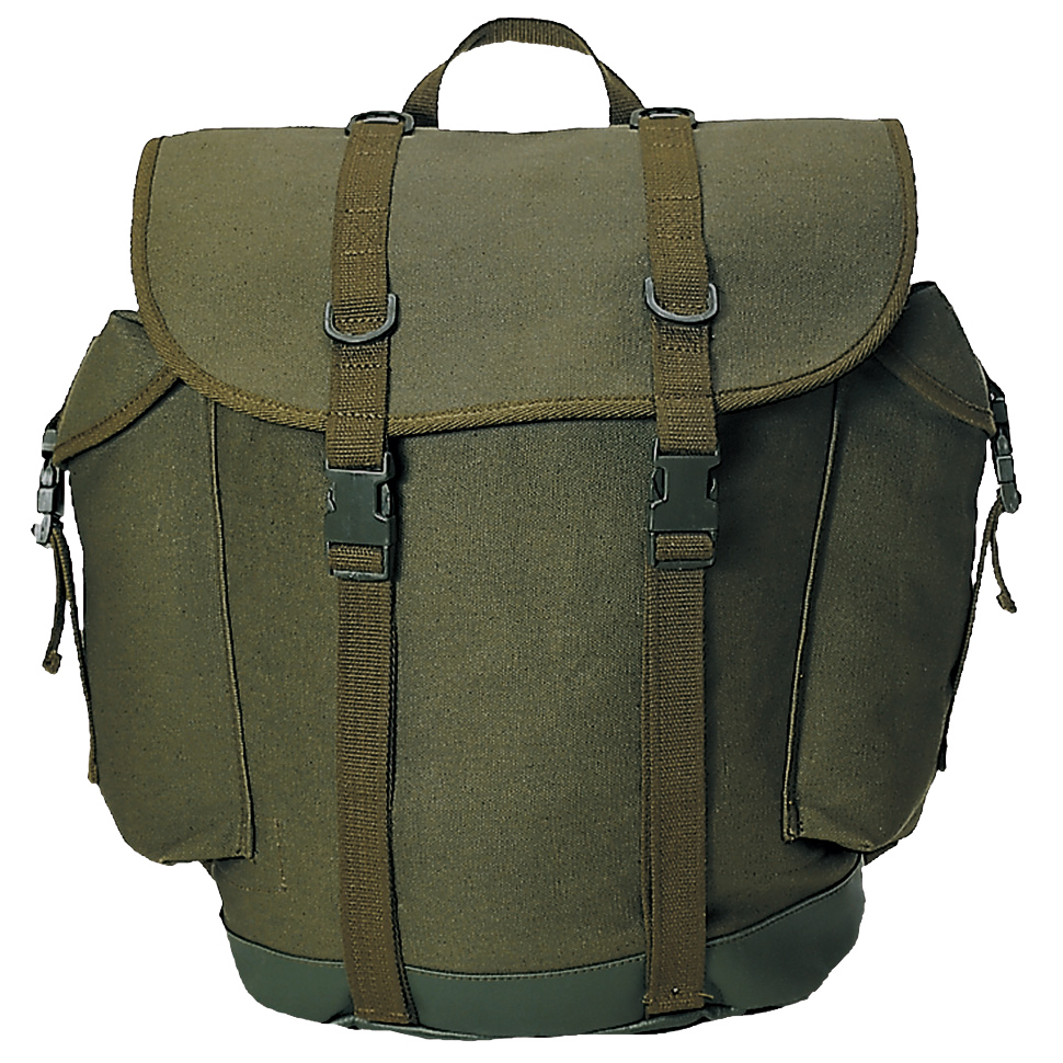 Bw German Military Mountain Rucksack Army Backpack Hiking Pack 25l Olive Ebay