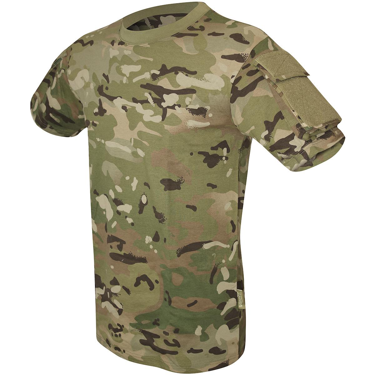 viper tactical military combat t shirt mens airsoft hunting cotton v