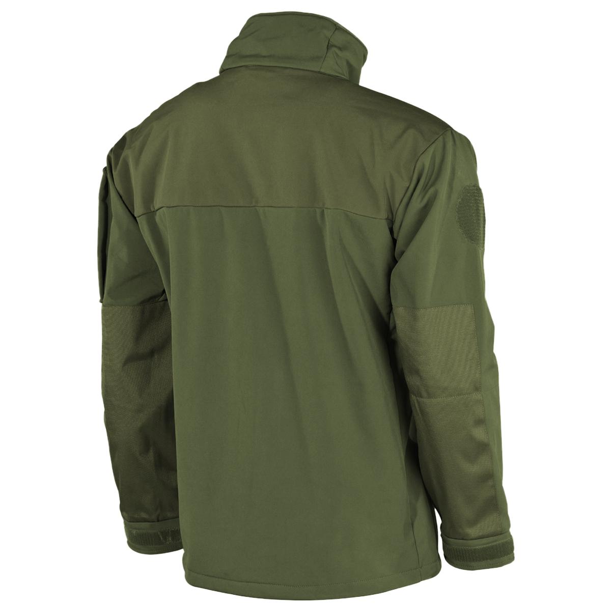 07d35dbedda8 Details about MFH Australia Soft Shell Jacket Mens Outdoor Hiking Trekking  Military OD Green