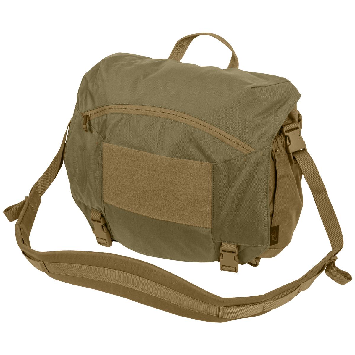 Helikon Urban Courier Bag Large Mens Messenger Nylon Adaptive Green Coyote