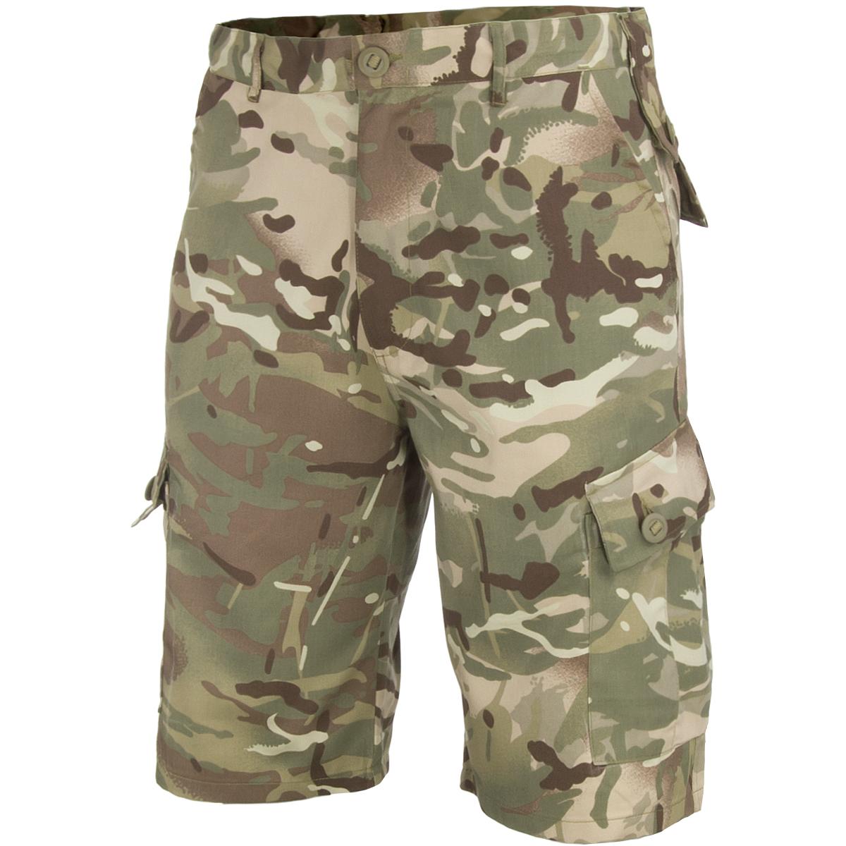 Highlander Elite Trousers Outdoor Polycotton Trekking Fishing Hunting HMTC Camo