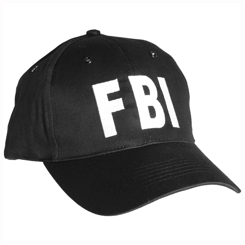 Details about FBI BLACK BASEBALL CAP TACTICAL HAT SPECIAL AGENT POLICE  SECURITY ARMY USA 7fe0963c407