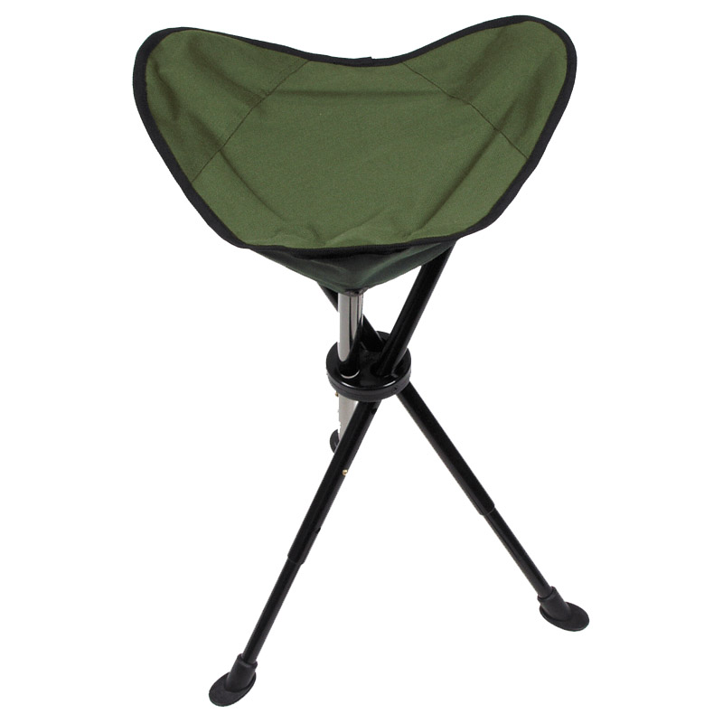 Telescopic Tripod Folding Fishing Stool Seat Chair With