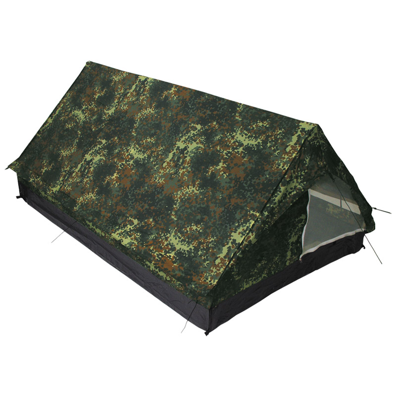 Sentinel 2 Person Tent Minipack C&ing Festival Travel Carry Bag German Flecktarn Camo  sc 1 st  eBay & 2 Person Tent Minipack Camping Festival Travel Carry Bag German ...