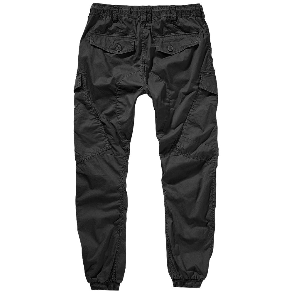 Brandit Ray Vintage Trousers Men/'s Outdoor Lightweight Summer Cargo Casual Black