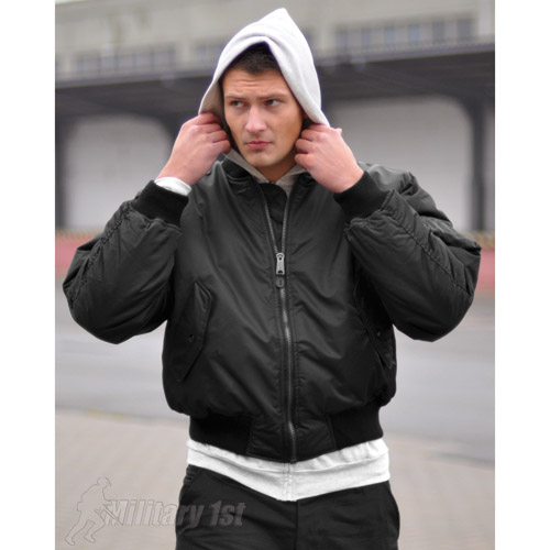 Tactical MA1 Pilot Cadet Combat Flight Army Style Mens Bomber ...