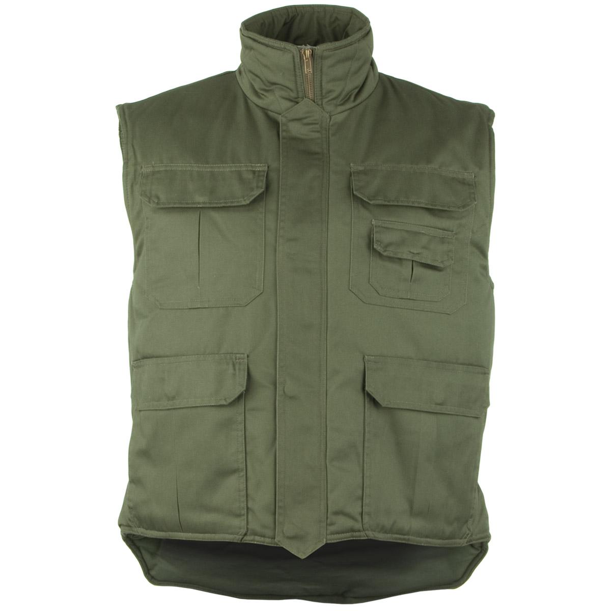 Army Body Warmer Padded Mens Vest Fishing Jacket Hunting
