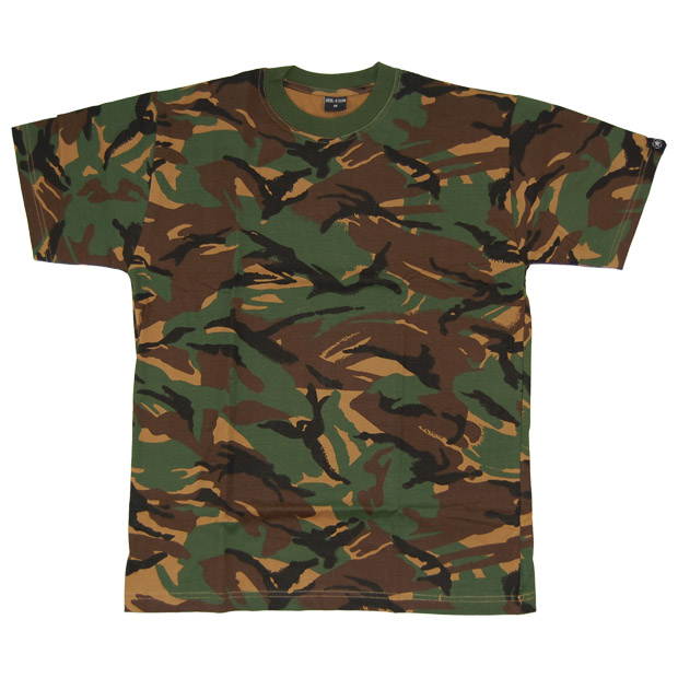 Dpm Camo Tee Mil Com British Army Mens