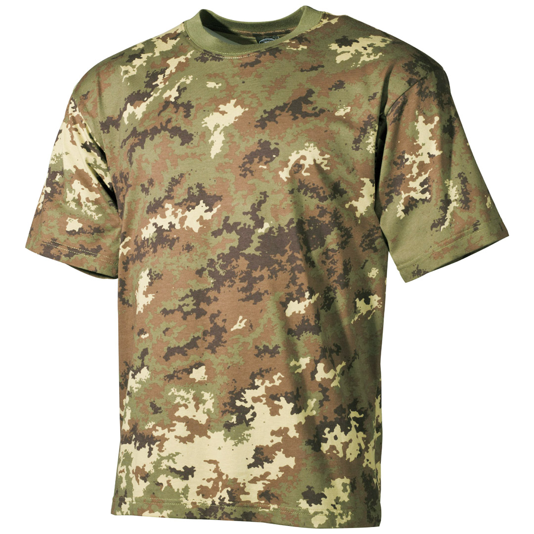 military patrol top italian army t shirt vegetato camo combat pattern tee s 3xl ebay. Black Bedroom Furniture Sets. Home Design Ideas