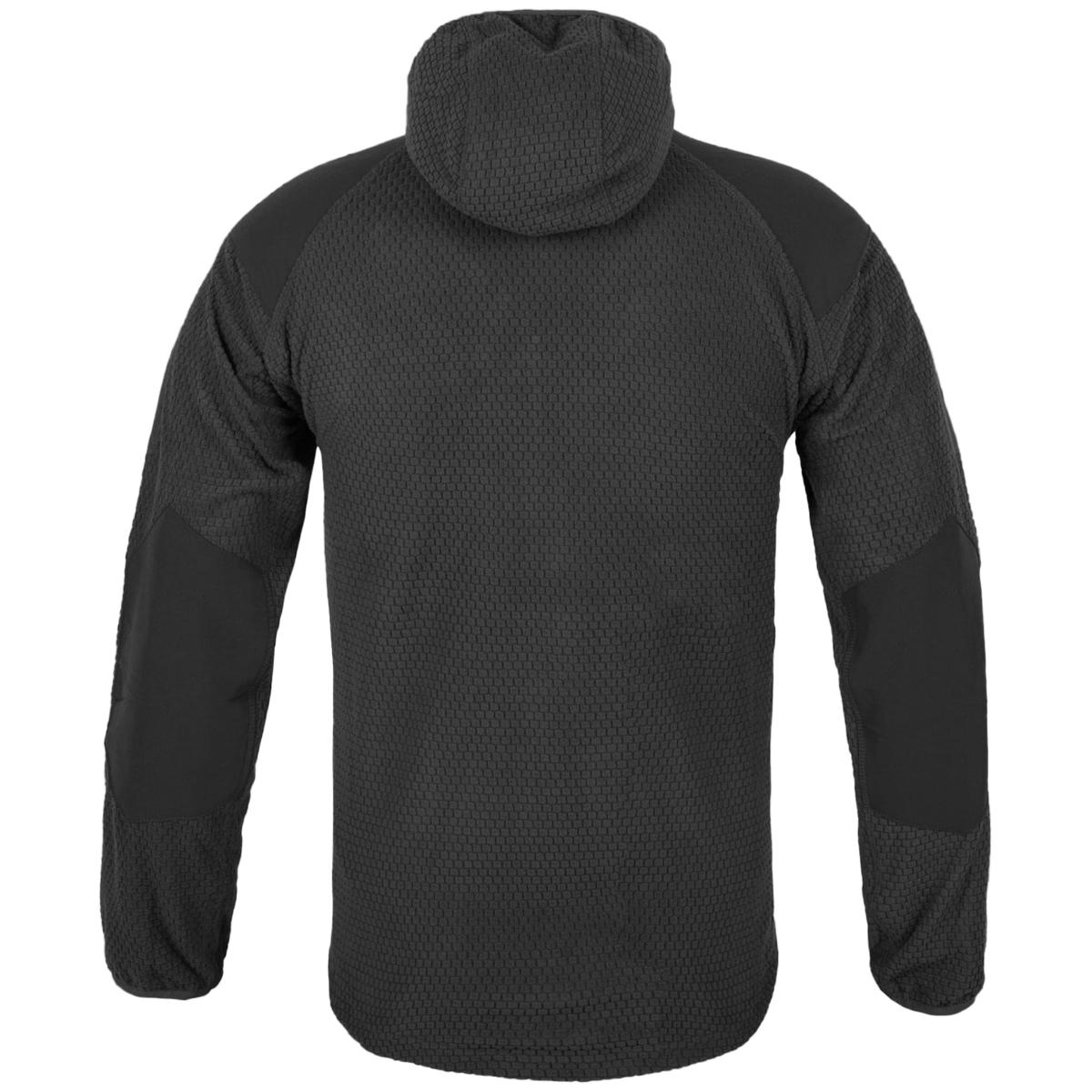 Helikon-Tex Alpha Hoodie Jacket Grid Fleece Mens Cycling Tactical Shadow Grey