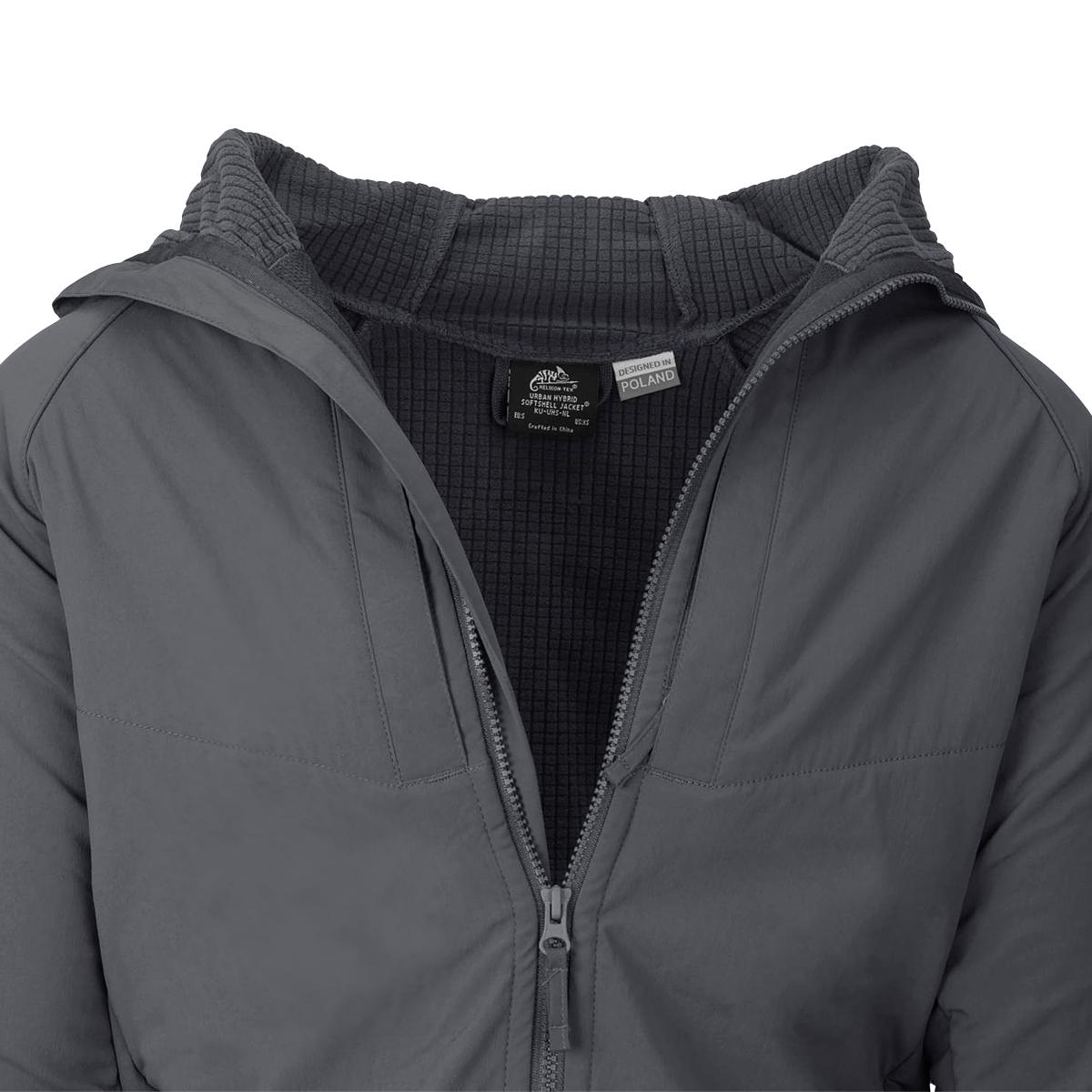 Helikon-Tex Urban Hybrid Softshell Jacket StormStretch Mens Hiking Travel Black