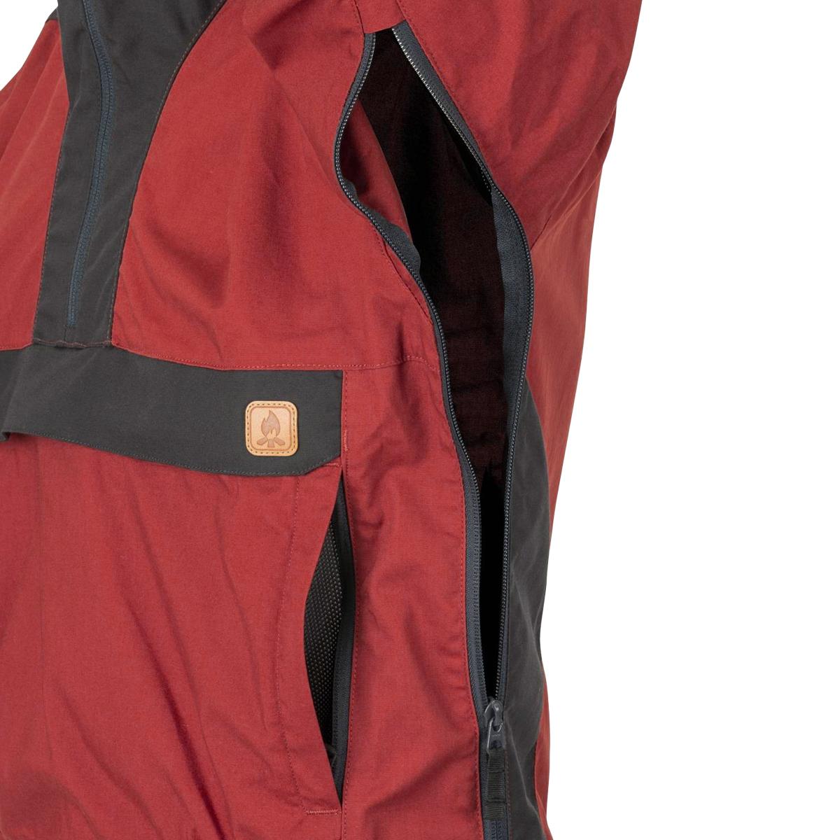 Helikon-Tex Mens Woodsman Anorak Jacket Crimson Sky//Ash Gray
