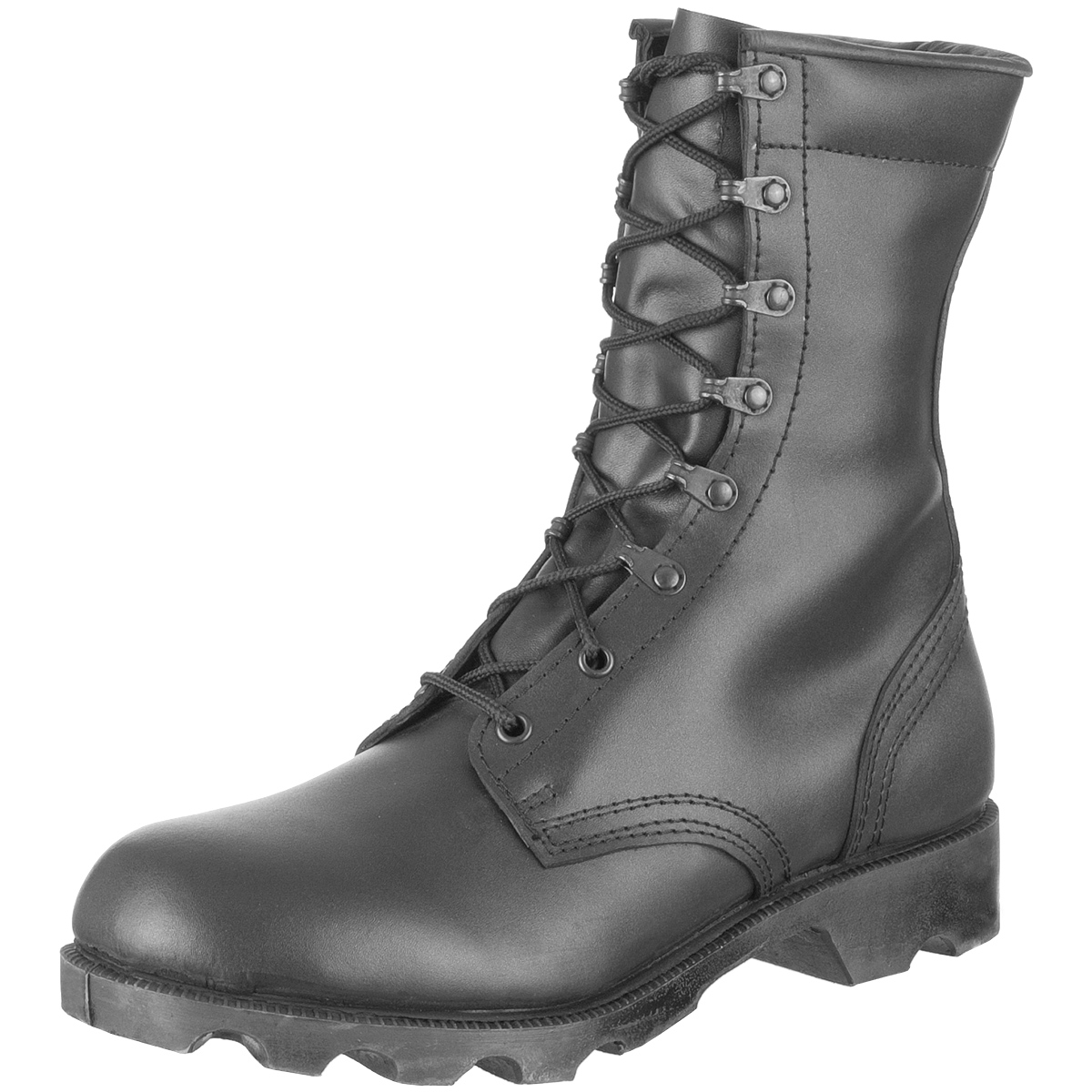 Details about US Army Speed Lace Black Leather Combat Cadet Military Mens  Hi-Leg Boots   6-13 26eb44beff0